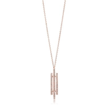 Sif Jakobs Rose Gold Rufina Tre Necklace