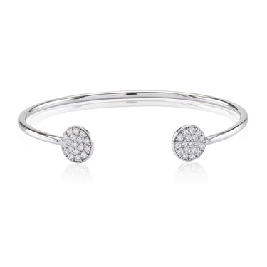 Sif Jakobs Sacile Open End Disc Bangle  - Click to view larger image