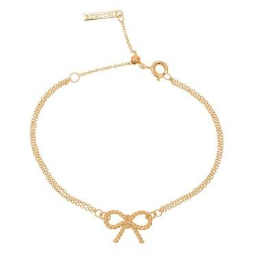 Olivia Burton Gold Bow Bracelet  - Click to view larger image