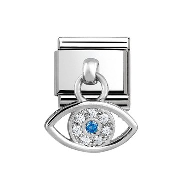 Nomination Greek Eye Hanging Charm  - Click to view larger image