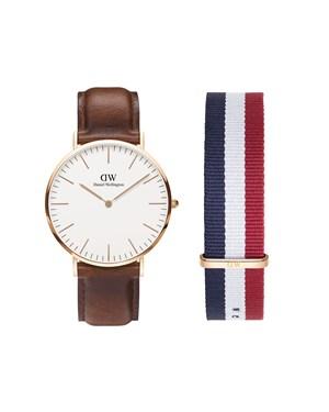 Daniel Wellington St Mawes Watch & Cambridge Strap Set