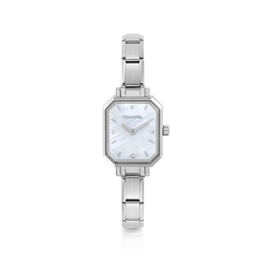 Nomination Paris Mother of Pearl Oblong Watch  - Click to view larger image