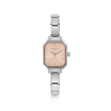 Nomination Paris Pink Oblong Watch  - Click to view larger image