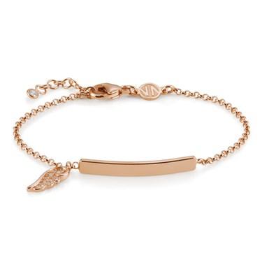 Nomination Angel Rose Gold Bar Bracelet