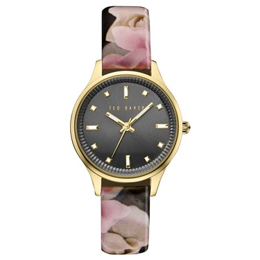 Ted Baker Floral & Gold Zoe Watch