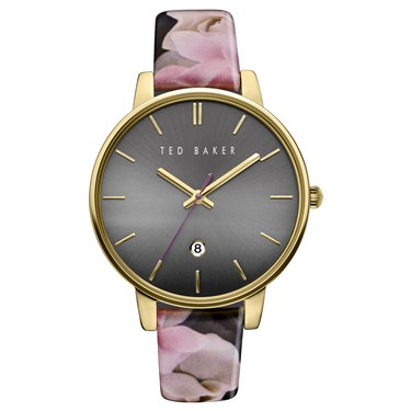 Ted Baker Floral & Gold Kate Watch  - Click to view larger image