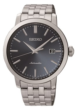 Seiko Mens Stainless Steel Mechanical Watch