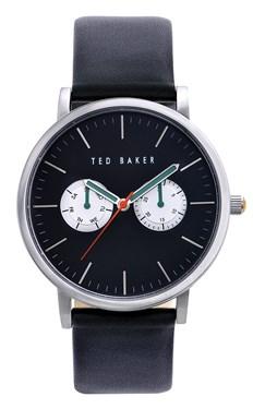 Ted Baker Men's Black & Silver Brit Watch