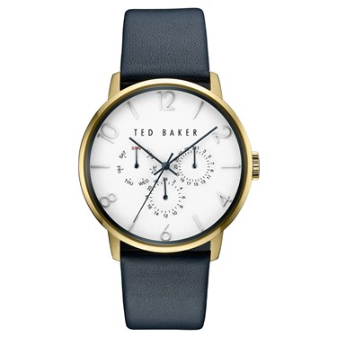 Ted Baker Men's Navy Strap & Gold Daniel Watch