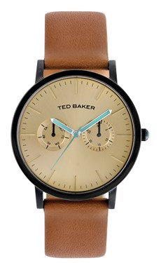 Ted Baker Men's Tan & Gold Brit Watch  - Click to view larger image