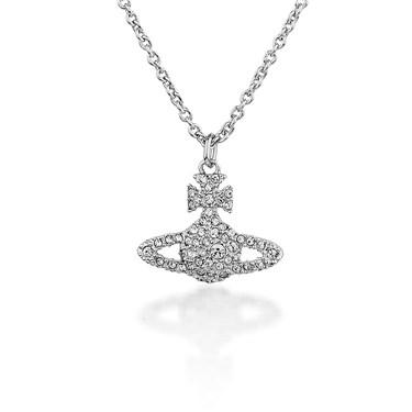 be690998e4cf Vivienne Westwood - Silver Grace Bas Relief Pendant