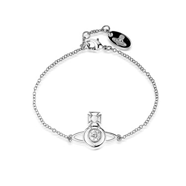 Vivienne Westwood Nora Silver Bracelet  - Click to view larger image