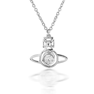 Vivienne Westwood Silver Nora Pendant  - Click to view larger image