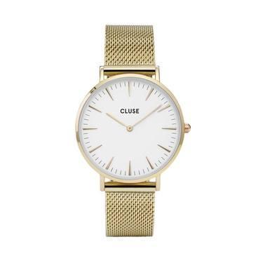 CLUSE La Bohème Gold Mesh Watch  - Click to view larger image