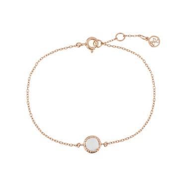 Argento April Birthstone Bracelet  - Click to view larger image