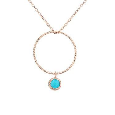 Argento December Birthstone Necklace  - Click to view larger image