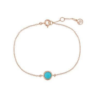Argento December Birthstone Bracelet Click To View Larger Image