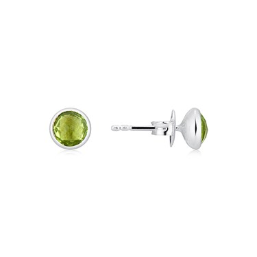 Argento August Birthstone Earrings  - Click to view larger image