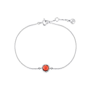 Argento January Birthstone Bracelet  - Click to view larger image