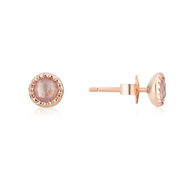 Argento June Birthstone Earrings Click To View Larger Image