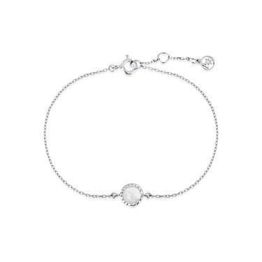 Argento October Birthstone Bracelet  - Click to view larger image