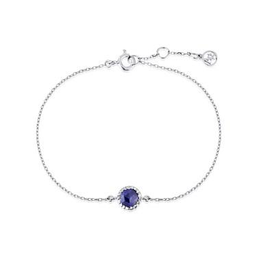 Argento September Birthstone Bracelet  - Click to view larger image