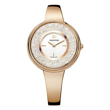 Swarovski Crystalline Pure Rose Gold Watch  - Click to view larger image