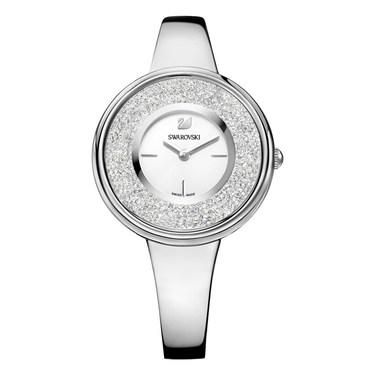 Swarovski Crystalline Pure Silver Watch  - Click to view larger image