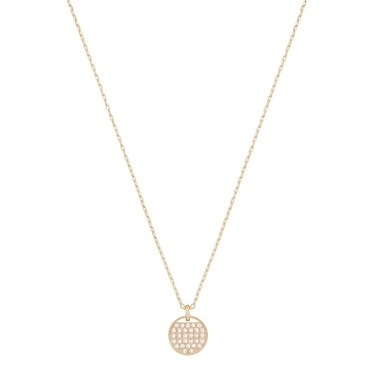 Swarovski Ginger Small Crystal Rose Necklace  - Click to view larger image