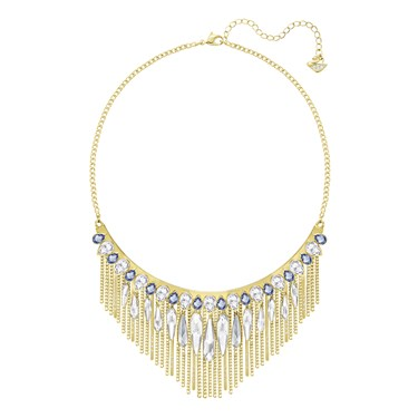 Swarovski Gipsy Gold Necklace  - Click to view larger image