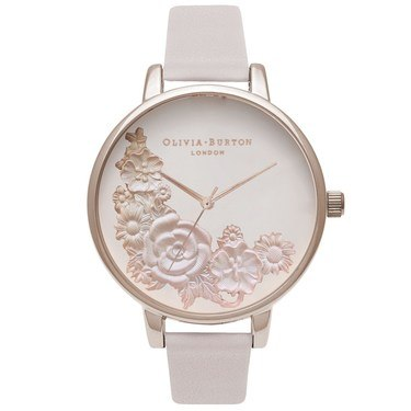 Olivia Burton Floral Bouquet & Blush Watch  - Click to view larger image