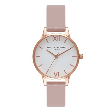 Olivia Burton Vegan Friendly Rose Sand Midi Watch   - Click to view larger image