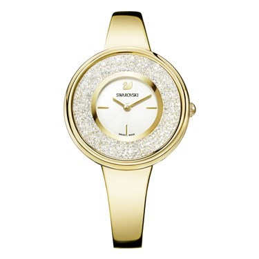 Swarovski Crystalline Pure Gold Watch  - Click to view larger image