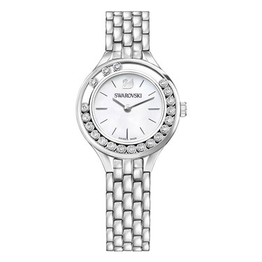 Swarovski Lovely Crystals Silver Bracelet Watch  - Click to view larger image
