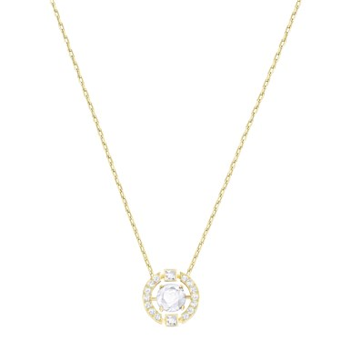 Swarovski Sparkling Dance Gold Crystal Necklace  - Click to view larger image