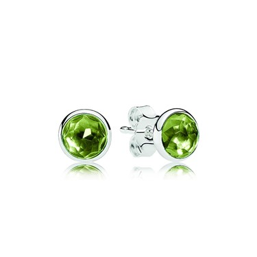 Pandora August Droplets Earrings  - Click to view larger image
