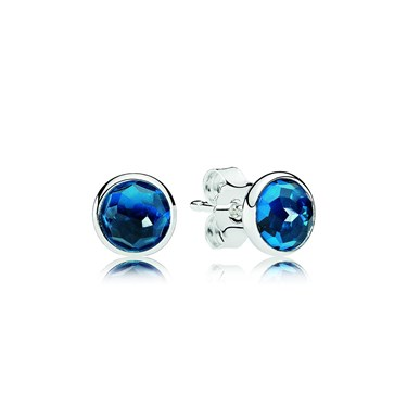 Pandora December Droplets Earrings  - Click to view larger image