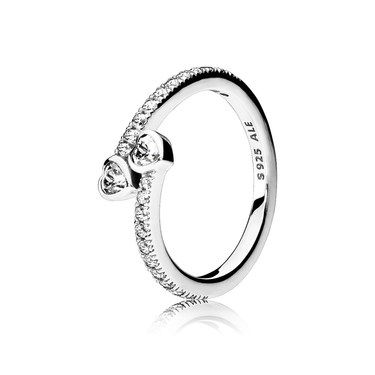 PANDORA Forever Hearts Ring  - Click to view larger image