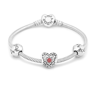 PANDORA January Birthstone Bracelet