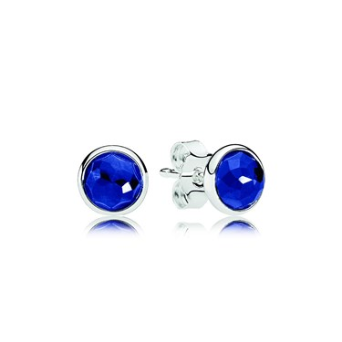 Pandora September Droplets Earrings  - Click to view larger image