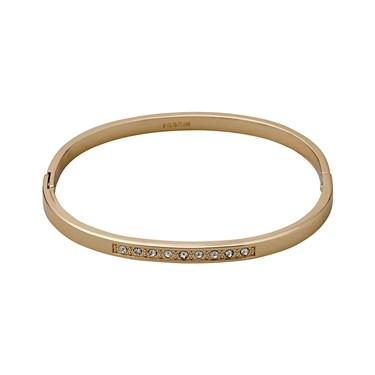 Pilgrim Rose Gold Crystal Bangle  - Click to view larger image