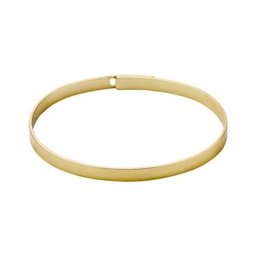 Pilgrim Gold Sophy Bangle  - Click to view larger image