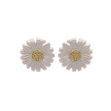 Olivia Burton Gold Daisy Stud Earrings  - Click to view larger image