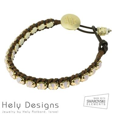 Hely Designs Crystal Friendship Bracelet