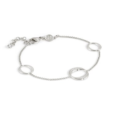 Nomination Silver Unica Circle Bracelet  - Click to view larger image