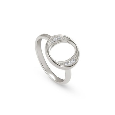 Nomination Silver Unica Circle Ring  - Click to view larger image