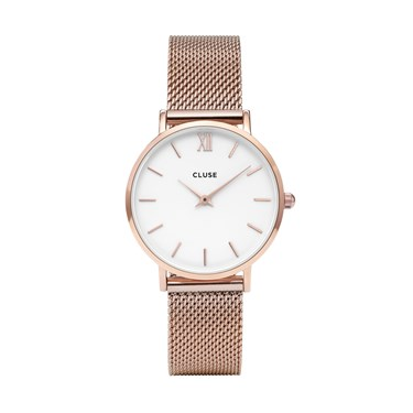 CLUSE Minuit Rose Gold Watch  - Click to view larger image