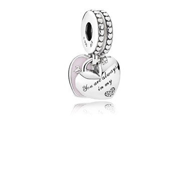 PANDORA Mother & Daughter Pendant Charm  - Click to view larger image