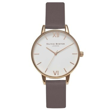Olivia Burton Midi Dial Iced Coffee & Rose Gold Watch  - Click to view larger image