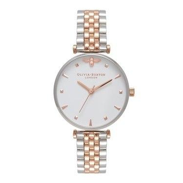 Olivia Burton Bee T-Bar Bracelet Watch  - Click to view larger image